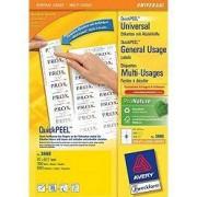 Avery 3660 etichetta per stampante Bianco
