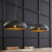 LUMZ Eettafellamp met perforator gaatjes in metalen kappen