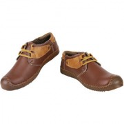 Yellow Tree Good Quality Casual Shoes Designer Tan Color Shoes For Mens Boys ( 21109 )