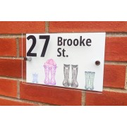 Gallery SI Limited t/a Colour House £12 for a customised welly sign for your home from Colour House!