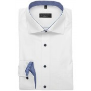 ETERNA Comfort Fit Hemd weiss, Einfarbig