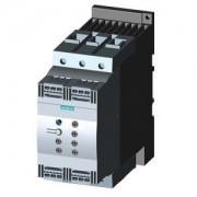 Lágyindító 106A, motor hővédelemmel, 3f 30-55Kw 200-480V motorokhoz, 24V AC/DC vezérlő feszültség, rugós csatlakozás, S3 méret (Siemens 3RW4047-2TB04)