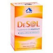 Vitamina D-Desol gotas com 20ml Aspen