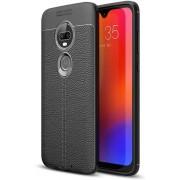 Just in Case Motorola Moto G7 Play Back Cover Soft TPU Zwart