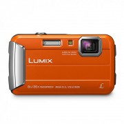 Panasonic Lumix DMC-FT30 Aparat Foto Subacvatic 16.1MP Portocaliu