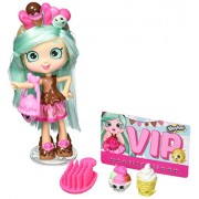 Shopkins Shoppies Bundle, Set Of 4: Peppa Mint, Jessicake, Bubbleisha, Popette