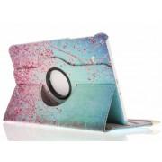 Merkloos Samsung Galaxy Tab E 9.6 Hoes: 360° Draaibare Design Bookcase