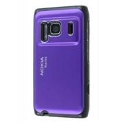 Brushed Aluminium Case for Nokia N8 - Nokia Hard Case (Grape Purple)