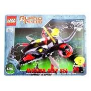 Lego Alpha Team Set #4797 Ogel Mutant Killer Whale Deep Sea