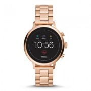 FOSSIL SmartWatch FOSSIL Venture HR Rose-Gold-Tone Stainless Steel FTW6018