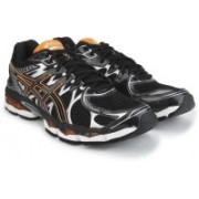 Asics Gel-Nimbus 16 Men Running Shoes For Men(Black, Orange, Silver)