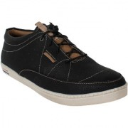 Yellow Tree High Quality Imported YT-Black Shoes doted Designer Casual Funky Shoes For Mens (R001)