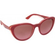 Vogue Cat-eye Sunglasses(Brown, Pink)