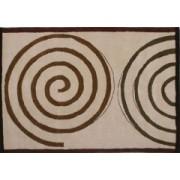 Vlněný koberec DESIGN Spiral d-01, 200x300 cm