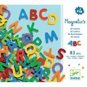 Set Litere mari magnetice, 83 piese