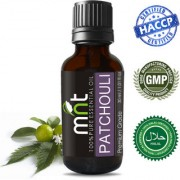 MNT Patchouli Essential Oil (30Ml) 100% Pure Natural & Therapeutic Grade for Aromatherapy Moisturizing Dry Skin & Skincare