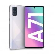 "Samsung Smartphone Samsung Galaxy A71 Sm A715f 128 Gb Dual Sim Octa Core 6.7"" Super Amoled Plus 4g Lte Wifi Bluetooth 4 Fotocamere Refurbished Prism Crush Silver"