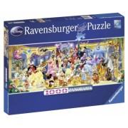 Puzzle personajele Disney, 1000 piese Ravensburger