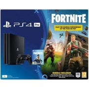 Consola Sony PlayStation 4 Pro 1TB + Fortnite Royal Bomber Pack (Negru)