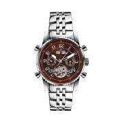 【84%OFF】230-H Air Professional Stahl Braun ラウンド ウォッチ ブラウン ファッション > 腕時計~~メンズ 腕時計