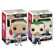 2 pack premiun joker shirtless harley quinn Funko pop pelicula escuadron suicida INCLUYE BOLSA POP PARA REGALO