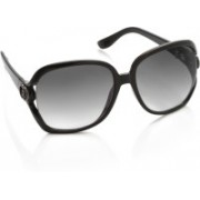 Allen Solly Over-sized Sunglasses(Grey)