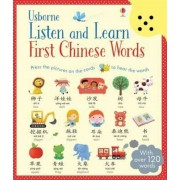 Listen and Learn First Chinese Words, Hardcover