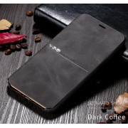 X-LEVEL Extreme Series Leather Cell Covering for iPhone 11 6.1-inch - Coffee