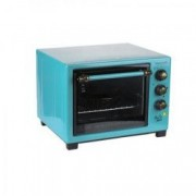 Cuptor electric 25l HB-9055 1420W Turquoise+ 2 tavi chec Cadou - boxa portabila bluetooth