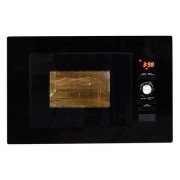 Nordmende NM824BBL 800W 20L Built in Combination Microwave Oven - Gloss Black