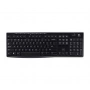 Logitech Wireless Keyboard K270 »Einfache Verbindung«, schwarz