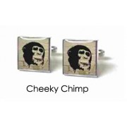Tyler & Tyler Stencilart White Bricks Cufflinks Cheeky Chimp