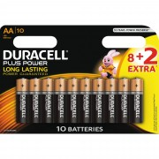 Duracell Plus Power AA 8+2pk