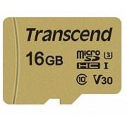 Transcend microSDHC Card USD500S Class10 UHS-I U3 - 16GB