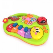 HATCHMATIC Funny Musical Instrument Toys Toddler Learning Machine Toy with Lights Music Songs Learning Stories and More Baby Girls Toys: bee