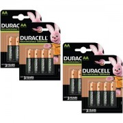 Duracell AA 1300mAh Rechargeable 16 Pack (BUN0061A)