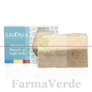 Sapun Natural cu Menta si Argila Verde 90 gr Savonia