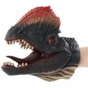 Simulación Guante de dinosaurio de juguete de cabeza - Dilophosaurus