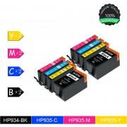 Merkloos – Inktcartridge / Alternatief voor de HP 934XL HP935XL Compatible voor HP Officejet Pro 6230 ePrinter, HP Officejet Pro 6830 e-All-in-One / Multipack