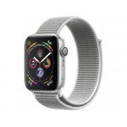 Apple Watch Series 4 Gps, 40mm Srebrny Z Opaską W Kolorze Porcelanowym