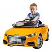 Auto A Bateria Audi Tts 12v Radio Control Amarillo Rastar