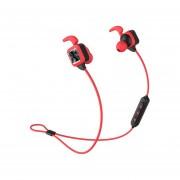 Audifonos Bluetooth, KS Plus Auriculares Audifonos Bluetooth Manos Libres Inalámbricos Deportivos Auriculares Estéreo Bajos Con Gancho De Oreja Mic Voice Prompt Manos Libres De Reducción De Ruido Sweatproof Para Teléfono (rojo)
