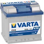 Baterie auto 12V 52Ah C22 Varta Blue Dynamic cod 552400 047
