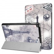 iPad 9.7 2017/2018 Tri-Fold Smart Folio Case - Eiffel Tower