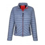 Alba Moda Jacke mit grafischem Druck allover, blau