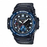 casio g-shock GN-1000B-1A 200 metros resistencia al agua gulfmaster serie deporte brujula digital reloj con termometro - negro + azul