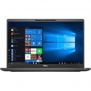 Laptop Dell Latitude 7400 14 inch FHD Intel Core i5-8265U 8GB DDR4 256GB SSD FPR Windows 10 Pro 3Yr ProS Black