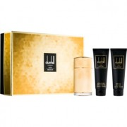 Dunhill Icon Absolute lote de regalo II. eau de parfum 100 ml + gel de ducha 90 ml + bálsamo after shave 90 ml + bolsita