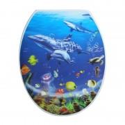 Wc daska ocean sa 3D slikom 770