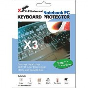 Green Onions Supply X-Style Universal Notebook/Laptop Keyboard Protector and Cover - 3 Pack (RT-XU01503)